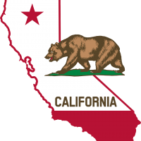 State of CA with bear