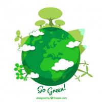 Go green planet