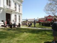 National Peace Officers Memorial Event Courthouse Lawn