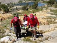 SAR Team aids ill hiker at Shamrock Lake
