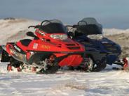 Snowmobile Patrol