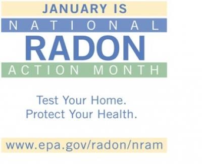 Radon Action Month banner