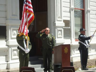 National Peace Officers Memorial Event 2012