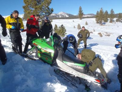 MCSO Snowmobile Certification Course