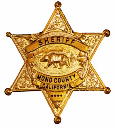 Mono County Sheriff badge