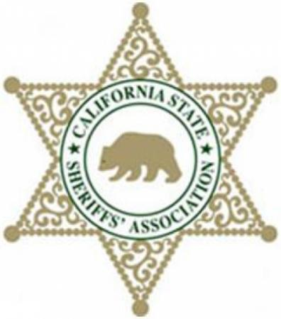 CA State Sheriff's Association badge